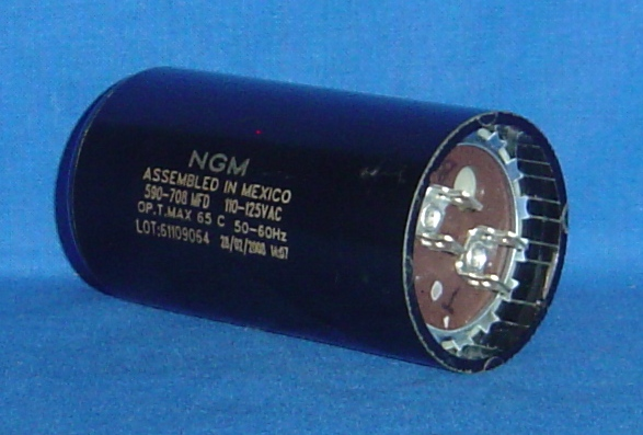 START CAPACITOR FOR MOST KOBLENZ SCRUBBERS