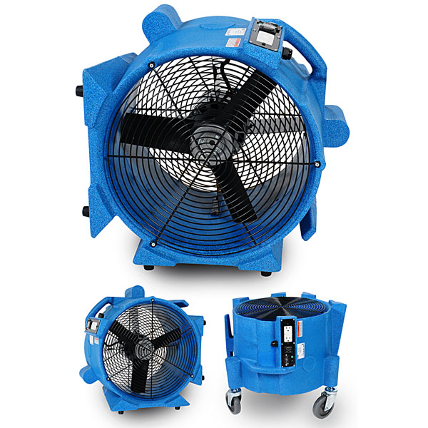EDIC AVIATOR 3000 CFM AIR MOVER WITH WHEELS