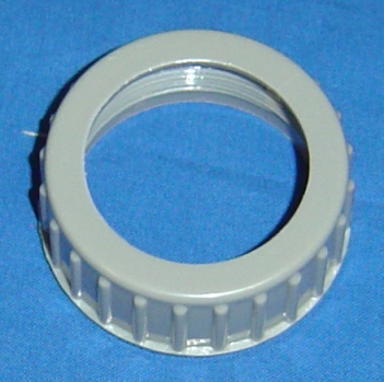 "1 1/2"" WAND RING, THREADED NUT - PLASTIC"