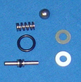 VALVE REPAIR KIT FOR ANGLED EXTRACTION VALVE
