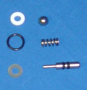 VALVE REPAIR KIT FOR NON-ANGLED WESTPAK EXTRACTION VALVES